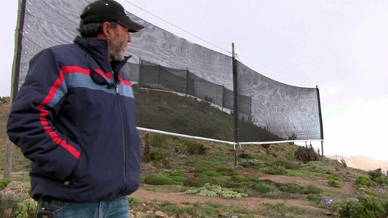 02 Fog Catchers in Atacama Desert - Living Atlas Chile