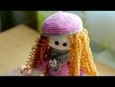 Как сделать волосы для куклы (Амигуруми)