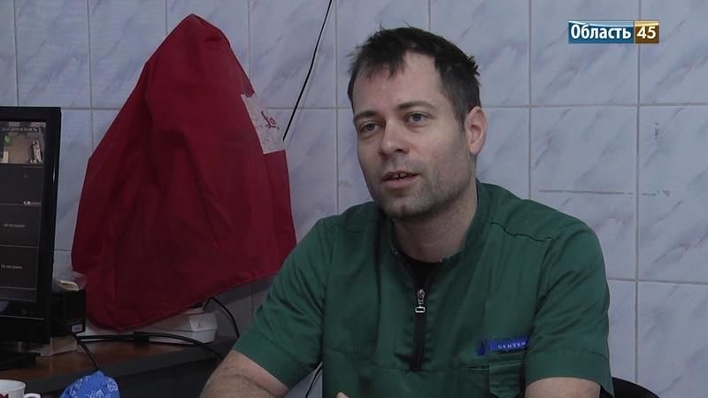 Курганскую кошку прилетел оперировать ветеринар из Словении