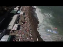 Ludwig van Beethoven Over Yalta Beach Crimea Drone footage