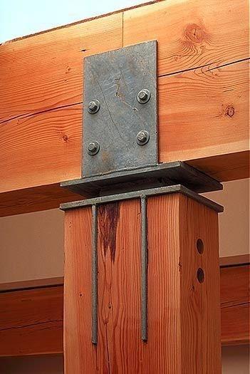Узлы деревянных конструкций.