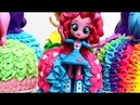 My Little Pony EQUESTRIA Dolls Cupcakes Dress Up by Cakes StepbyStep