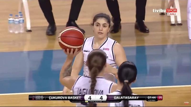 Cukurova vs Galatasaray KBSL 17 Hafta 03 02 2019