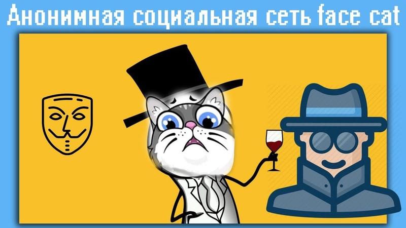 Анонимная социальная сеть face cat