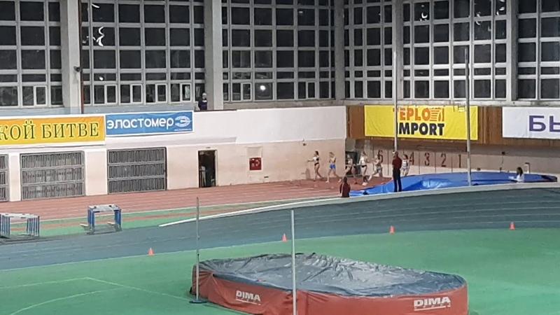 Первенство России до 18 лет. 60 метров, девушки (финал). Алина Колобова - 7,73