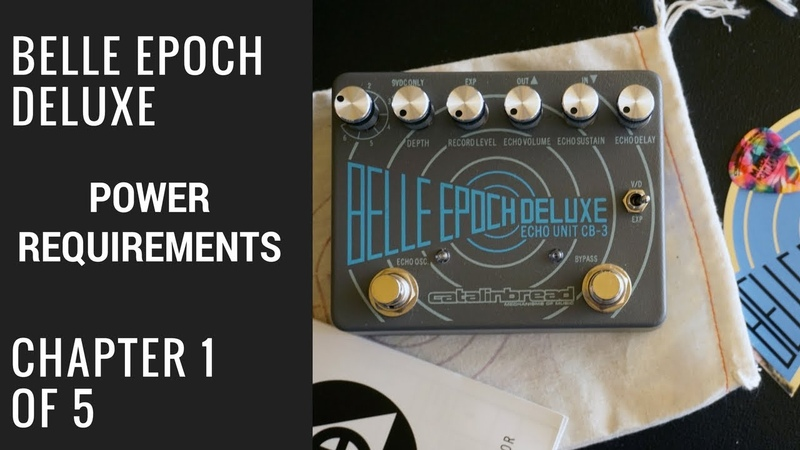 Belle Epoch Deluxe: Out of The Box 1 of 5 Power Requirements and Placement