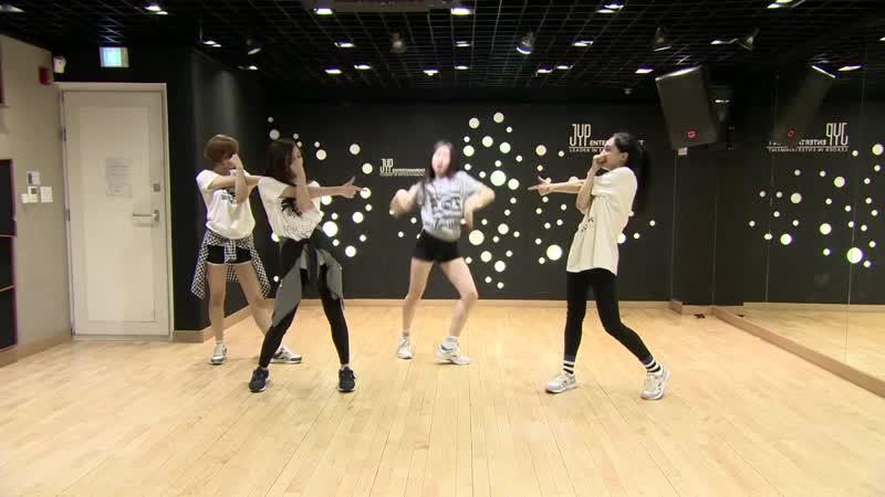 Танцевальная практика 150609 Major A Happy Pharrell Williams Mnet @ Sixteen