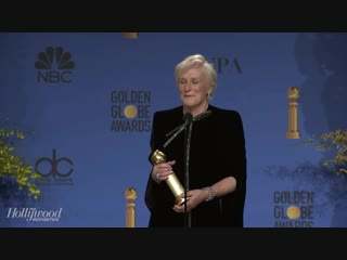 Golden Globes 2019 Winner Glenn Close Full Press Room Speech ¦ THR