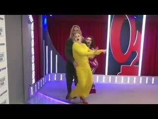 Алла Довлатова, Наташа Королева и Тарзан!