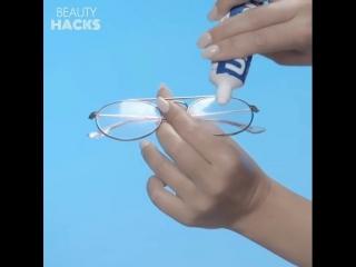 Как почистить очки?