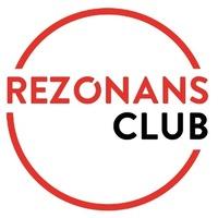 Логотип REZONANS - студия танца, научим танцевать