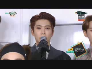 181123 NCT 127 interview @ Music Bank