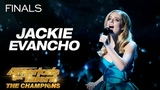 Jackie Evancho Performs Inspiring Rendition Of