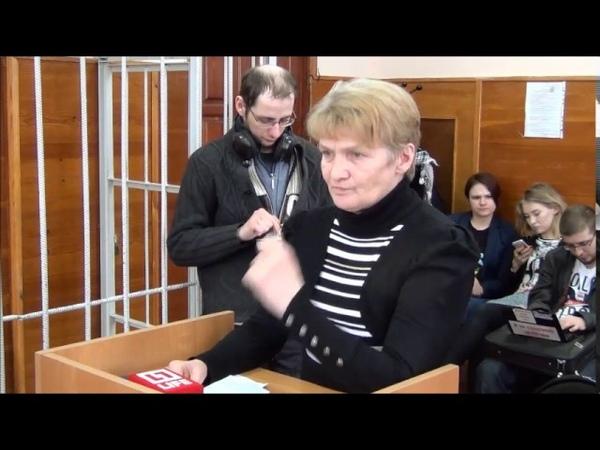 Допрос свидетеля защиты матери Соколовского