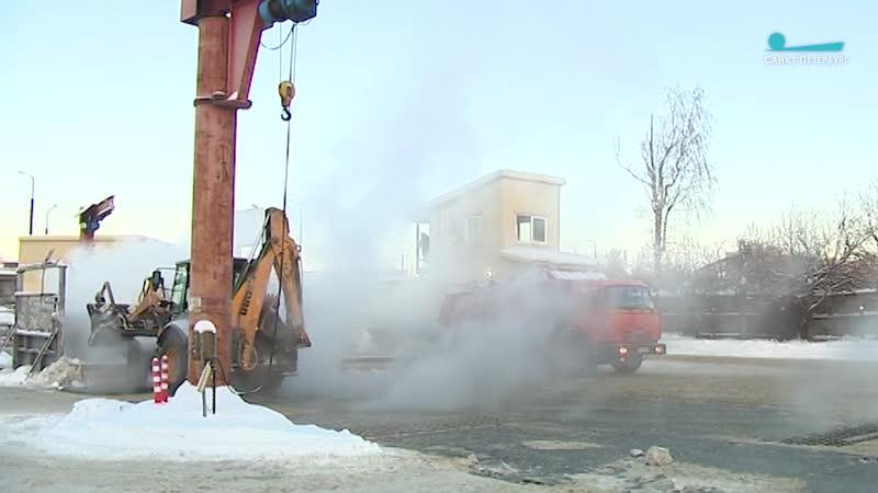 В Петербурге с начала зимы расплавили 2 млн кубометров снега