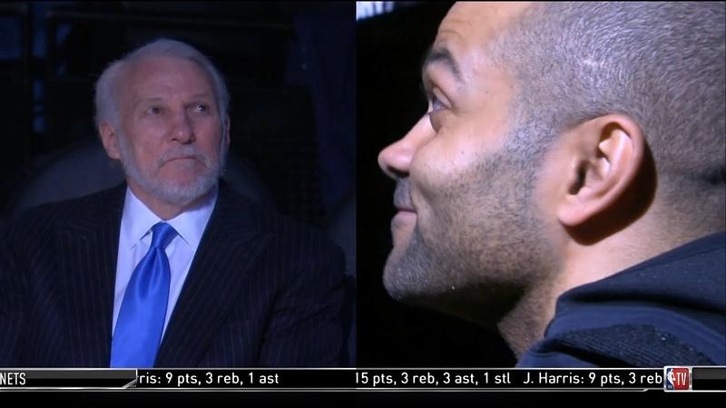 Tony Parker Emotional Return to Spurs Receives A Tribute Standing Ovation | Spurs vs Hornets