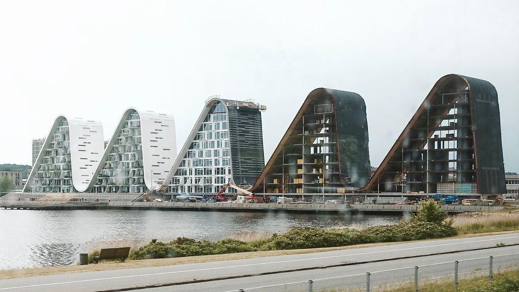 В Дании завершили строительство жилого комплекса Wave