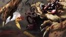 Сайтама и Генос против Царя Зверей и Бронированной Гориллы
