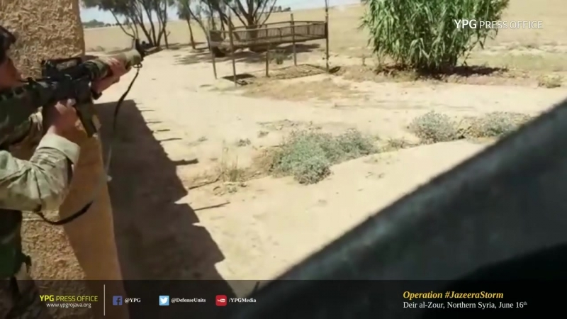 Бойцы SDF из ПТРК уничтожили ШахидМашину Deir al-Zour, Northern Syria