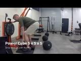 Пример концентрической круговой тренировки с Andy Baxter