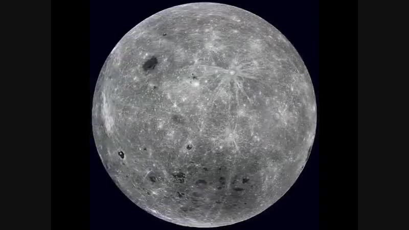Полный оборот Луны от NASA