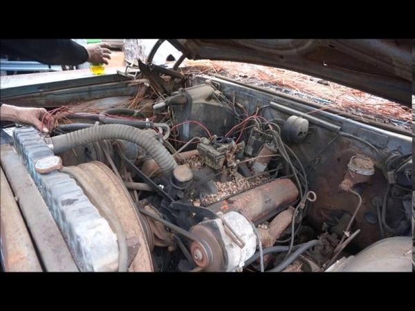 1965 Belair NOT A Impala First Start After 27 Years