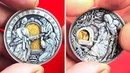 THIS ARTIST ENGRAVES COINS WITH A SECRET IN A HOBO NICKEL STYLE