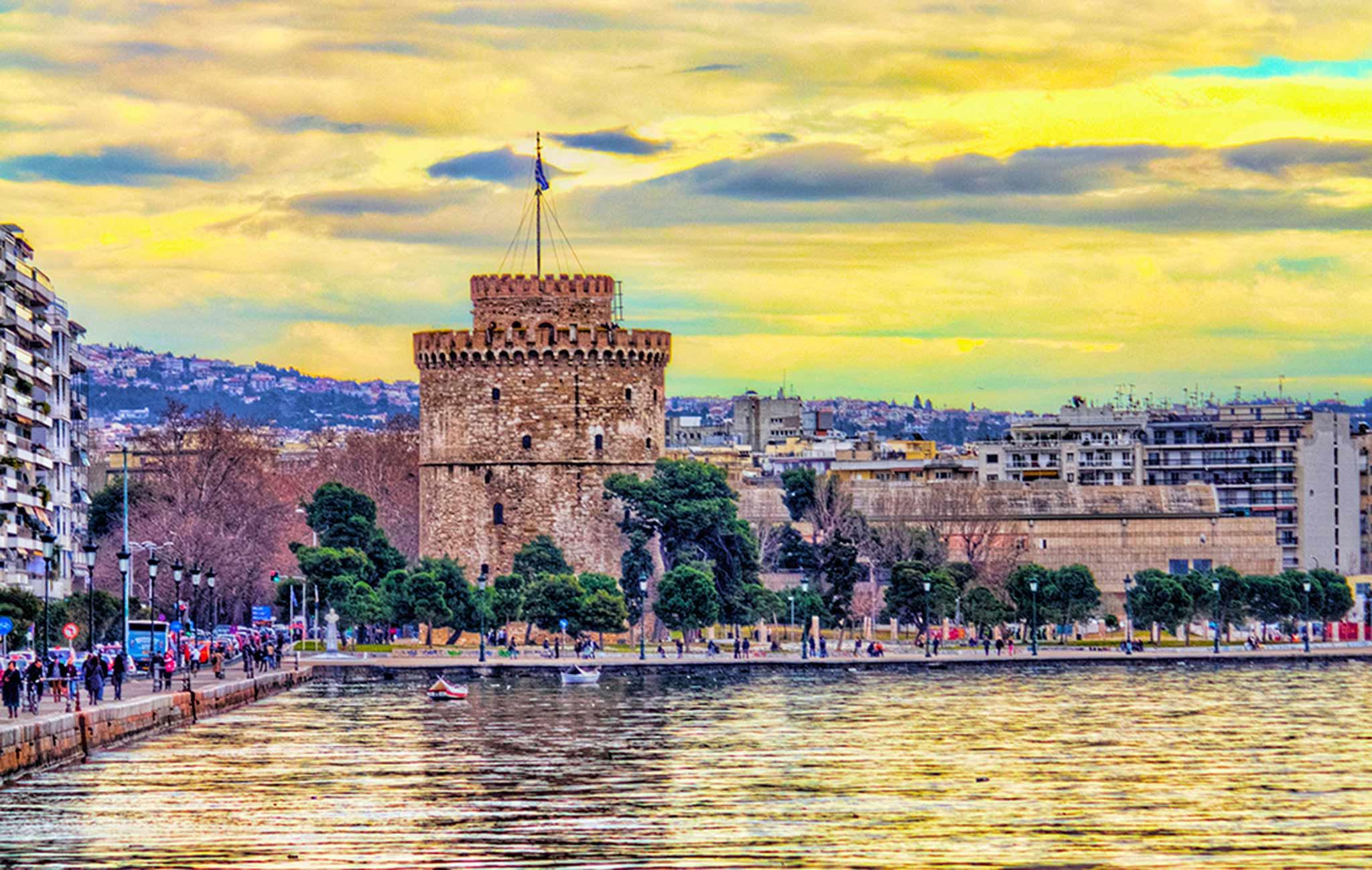 Историческая часть Салоников