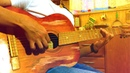 Дикое ЖОГОВО на Cоветской гитаре !