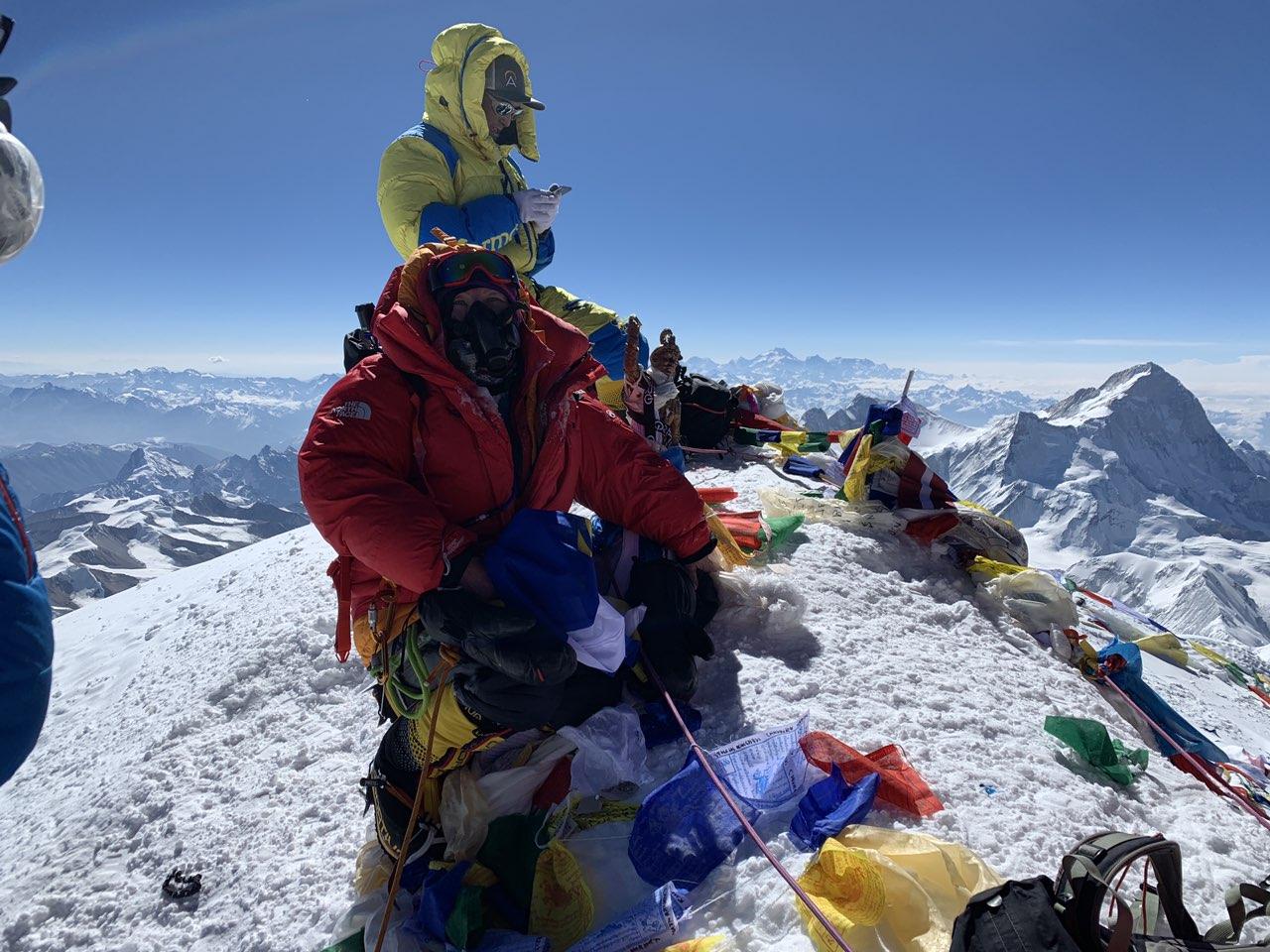 59-летняя жительница Бурятии покорила Эверест