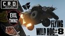 Crossout: [ Tusk Harvester ] FLYING WILD HOG 8 [ver. 0.9.75]