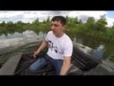 Всесезонный плавающий мотобуксировщик БК от РОСТИН на воде