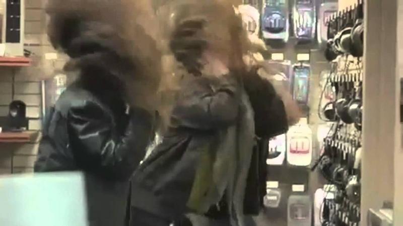 Headbanging in the store