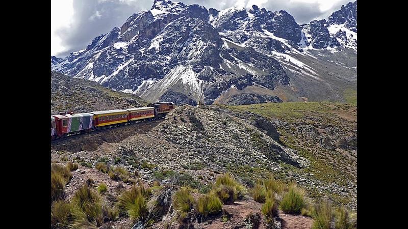 Tren Lima a Huancayo Ferrocarril Central Andino del Perú (Segundo tren más alto del mundo)