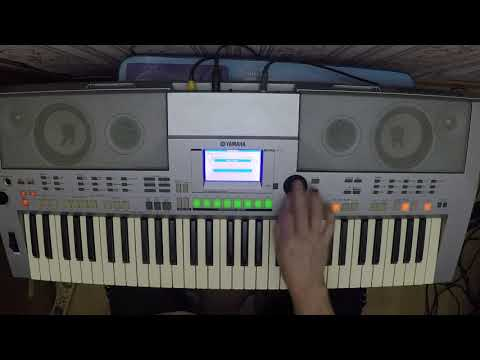 Yamaha PSR S 500. Style Adria. Good by my love good by( Demis Roussos)