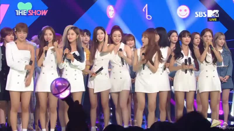 190618 WJSN (Cosmic Girls) (우주소녀) win 1 with Boogie Up (부기업) on The Show Enco