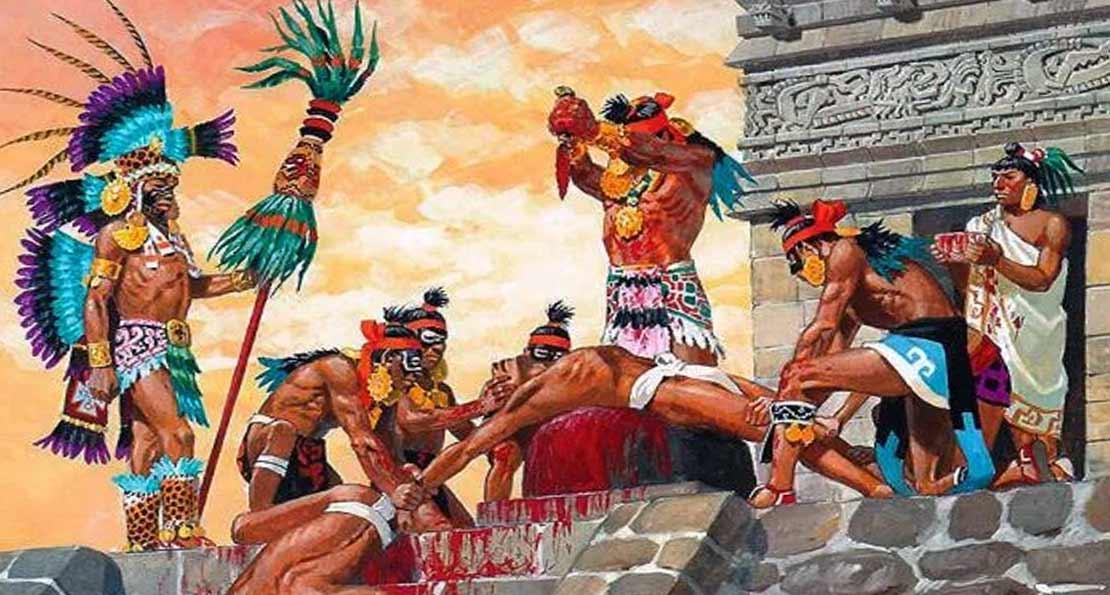 Жертва майя
