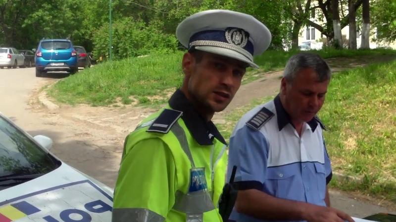 Poliția română te amendeză dacă îi ceri respect - Curaj.TV