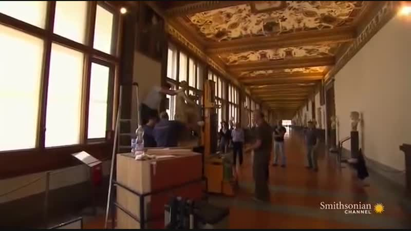 Музейные тайны Флоренция Внутри галереи Уффици
