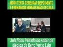 Juiz fica irritado ao saber de elogiosde Bono Vox a Lula
