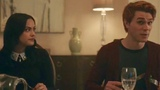 Riverdale 2x10 Archie and Veronica Dinner at the Lodges