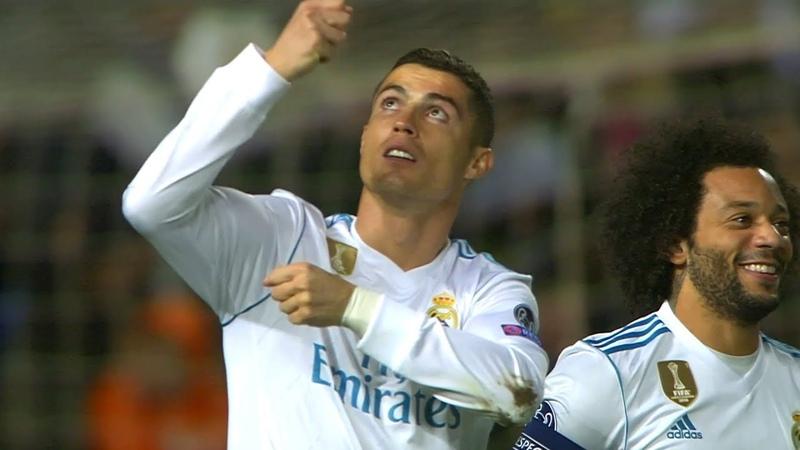Cristiano Ronaldo vs APOEL Nicosia Away HD 1080i (21/11/2017) by 1900FCBFreak