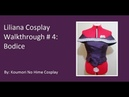 CosThrough Liliana Tutorial Part 4 Bodice
