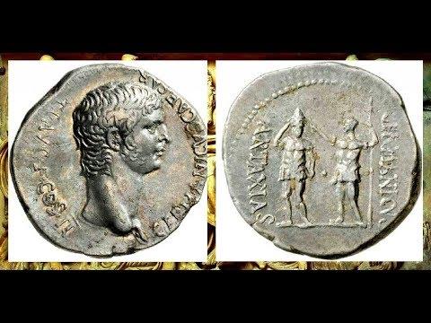 Дидрахма, 37 - 38 н.э., Монеты Цезаря Калигулы, Didrahma, 37 - 38 AD