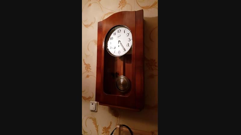 Часы ОЧЗ механика без боя