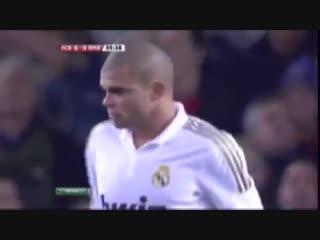 Месси отомстил Пепе - Lionel Messi avenged Pepe.mp4