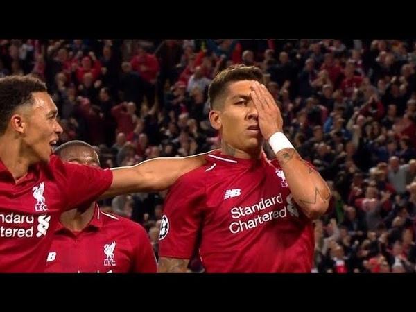 Firmino Goal vs PSG (3-2)   UCL Liverpool vs PSG