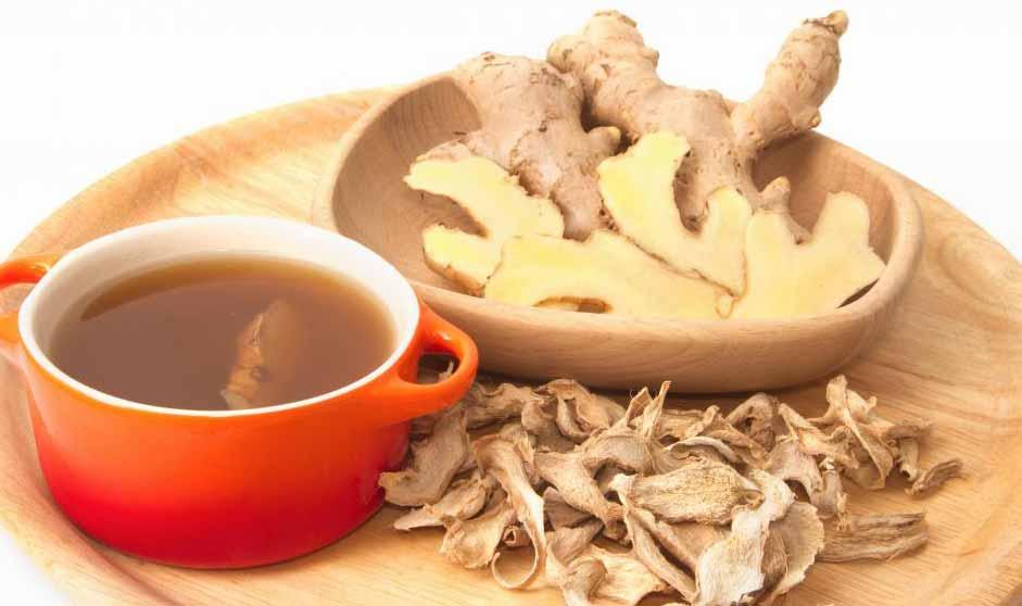 Имбирь можно использовать для снятия тошноты и ряда других заболеваний желудка