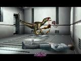 PS1USA Dino Crisis 1 Четвёртое прохождение - 27. Скрытая сцена. Зона B3