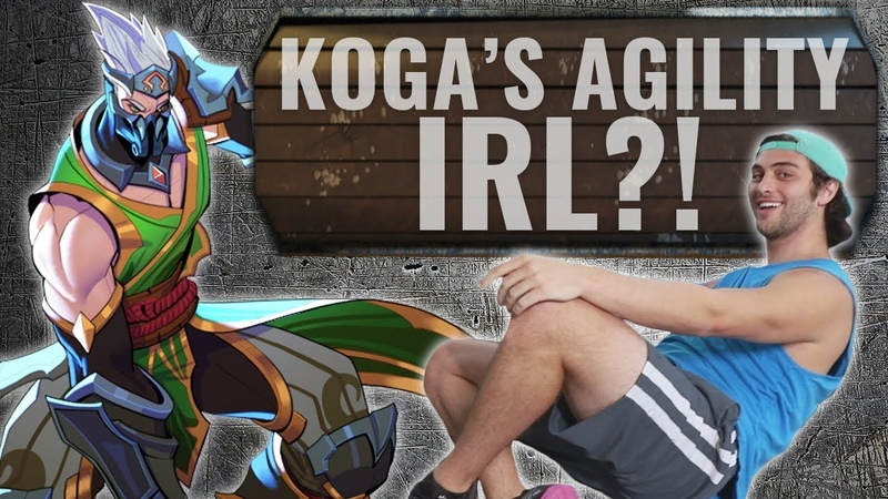 Paladins - The Armory | Kogas Agility in Real Life!